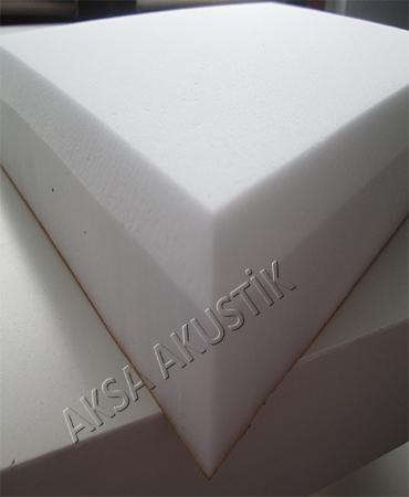 Akustik Yapışkanlı Beyaz Melamin Sünger